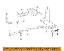 TOYOTA OEM 09-15 Venza Exhaust-Muffler Rear Bracket Right 175740P110
