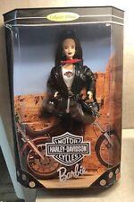Nrfb 1998 Harley Davidson Biker Barbie New