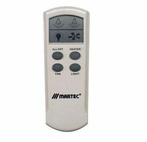Martec Bathroom Heater Remote - MBHREM LCD Remote Control Kit