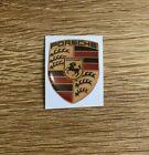 Porsche Domed Sticker Badge Decal 3D Car Sticker 40mm