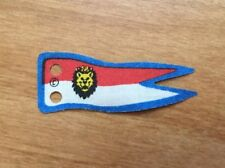 LEGO Cloth Flag 5 x 2 Banner with Royal Knights Lion Head Pattern 6044, 6090