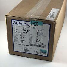 Genteq Motor 1/5 HP 208-230V 1075RPM 1A CCW Condensor Blower Motor