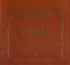 "BENIAMINO GIGLI ""REGISTRAZIONI INEDITE UNPUBLISHED"" VOL. III BOX 8 LP NUOVO EMI"