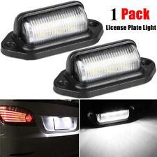 Auto Waterproof 6 LED 12V License Plate Light Car Boat Truck Trailer Step Lamp