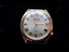 Authentic Vintage Bulova Accutron 10K Rolled Gold Men's Wristwatch