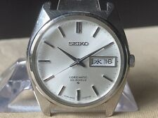 Vintage SEIKO Automatic Watch/ LORD MATIC LM 5606-7000 23J SS 1968