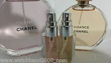 Combo 2 of 5ML - CHANEL CHANCE EAU TENDRE and CHANEL CHANCE, travel, gym, purse