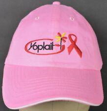 Pink Yoplait Brand Yogurt Co Logo Girls Embroidered Baseball Hat Cap Adjustable