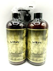 WEN By Chaz Dean Wen Sweet Almond Mint Cleansing Conditioner 16 Fl. Oz Lot of 2