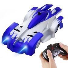 Coche Teledirigido Trepador 4CH RC Escalar la Pared juguete de carrera Azul