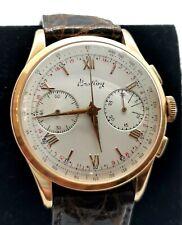Breitling Chronograph Gold 18k ref 1197 cal Venus 188