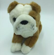 Animal Alley Toys R Us Dog Puppy Stuffed Plush Brown White Boxer Bull Dog D