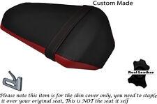 Rojo oscuro y negro Personalizado Se Ajusta Yamaha YZF R 125 Facelift 14-17 Cubierta de Asiento Trasero