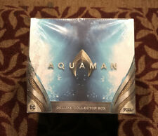 Funko Pop Aquaman Deluxe Collectors Box Target Exclusive Pop Vinyl DC Set of 6