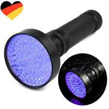 Ultraviolett LED UV Taschenlampe Schwarzlicht Fluoreszentester Handlampe Lampe