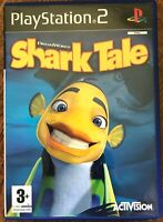 Shark Tale PS2 Game DreamWorks Sony PlayStation 2 Based on the Film Movie