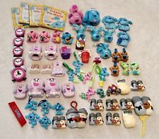 Blues Clues Lot 63 Magenta Mailbox Salt Pepper Books Clock Vtg Toy Toddler Gifts