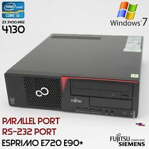 PC Computer Fujitsu Esprimo E720 E90+D3221 Intel Core i3 4130 RS-232 Parallel