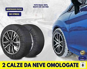 Catene da neve omologate Ford Focus ruote Pneumatici cerchi misure kit auto set