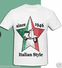 T-SHIRT / MAGLIA BIANCA CON STAMPA - MADE IN ITALY