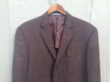 Hickey Freeman Sport Coat Blazer Wool / Silk Blend Size 38