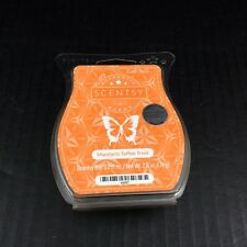 Scentsy Wax Melt Bar Mandarin Toffee Treat 3.2 Ounce Wickless Candle Tart Warmer