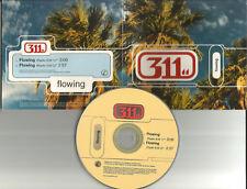 311 Flowing w/ 2 RARE EDITS 1999 USA LIMITED PROMO Radio DJ CD single