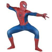 costume spiderman bambini vestito uomo ragno completo carnevale 2 pezzi spider