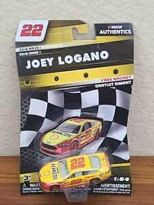 2018 Cup Champ Wave 1 Joey Logano Shell Pennzoil 1/64 NASCAR Authentics Diecast