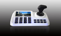 CCTV 3D Joystick Keyboard Controller 5 Inch LCD Screen Onvif 2.4 For Speed PTZ