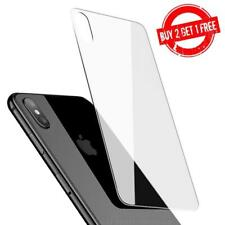 iPhone XS MAX Back Rear Door High Quality Clear Tempered Glass Screen Protector
