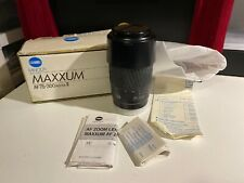 Minolta Maxxum AF 75-300mm f/4.5-5.6 II Lens Open Box 274