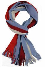 Schal Strickschal Streifen modisch mehrfarbig 50% Wolle (Merino) 50% Acryl R-635