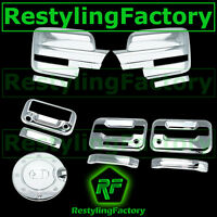 09-14 Ford F150 Chrome Mirror+2 Door Handle+KYP+PSG KH+Tailgate Camera+GAS Cover