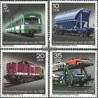 DDR 2414-2417 (kompl.Ausg.) FDC 1979 Schienenfahrzeuge