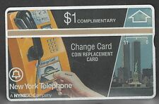 New York Telephone First Complimentary Phone Card with Twin Towers (108E)