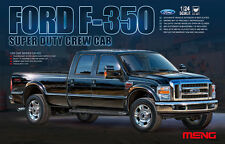 Meng 1:24 Ford F-350 Super Duty Crew Cab Pickup Truck Plastic Model Kit #CS001