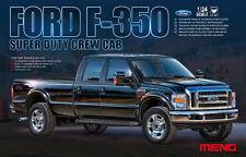 Meng 1:24 Ford F-350 Super Duty Crew Cab Pickup Truck Plastic Model Kit #CS001