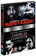 Safe House / American Gangster (DVD, 2012, 2-Disc Set) - Brand NEW and Sealed