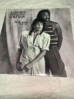 """Ashford and Simpson """"Real Love"""" 12"""" 33rpm Vinyl Album from 1986"""