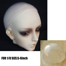 "NEW BJD Head Silicone Wig Cap For Doll Dollfie Size 5""- 6"" inch 12-14cm 1/8 size"