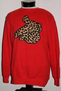 CROOKS & CASTLES Mens Large L red Sweatshirt Combine ship Discounts