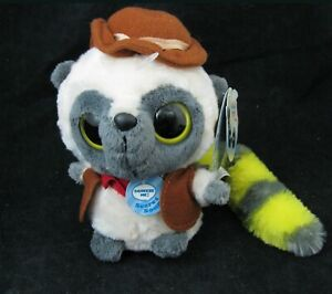 New YooHoo & Friends Cowboy Baby Bush Plush with Sound Big Eyes Long Tail AURORA