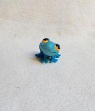 LITTLEST PETSHOP #806 / 2007 HASBRO FROG GRENOUILLE BLEU YEUX ORANGE