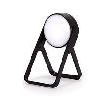 Kleine Tischlampe LED Leselampe klappbar Reise Batteriebetrieb 360° schwenkbar