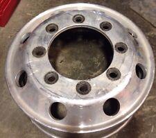 "Alcoa Polished Front Wheel for 2005 Chevy 4500-5500 8 lug 19.5"""