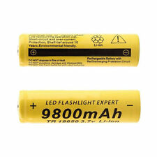 3.7V 18650 9800mAh Li-ion Rechargeable Battery For Flashlight Laser Toys Torch