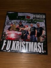 Kim Wilde - F U Kristmas! Rare Signed UK CD Single