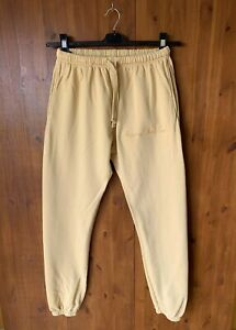 RRP £120 - *SOLD OUT* BILLIE EILISH HAPPIER THAN EVER TROUSERS Beige MEDIUM