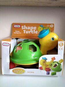 Pre School Shape Sorting Turtle Toy Gift Present